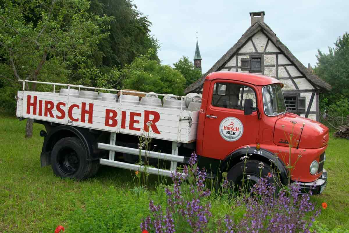 Bier-LKW