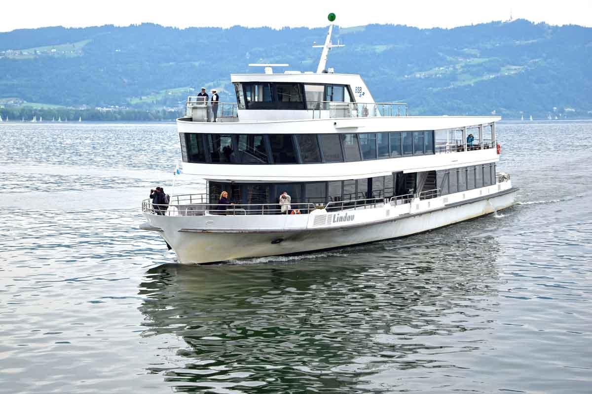 Bodenseeschiff Lindau