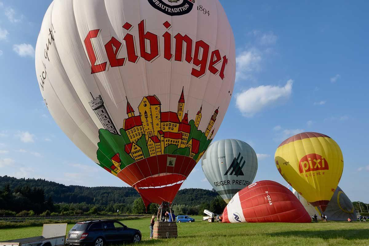 Ballon-Fiesta im Allgäu und am Bodensee