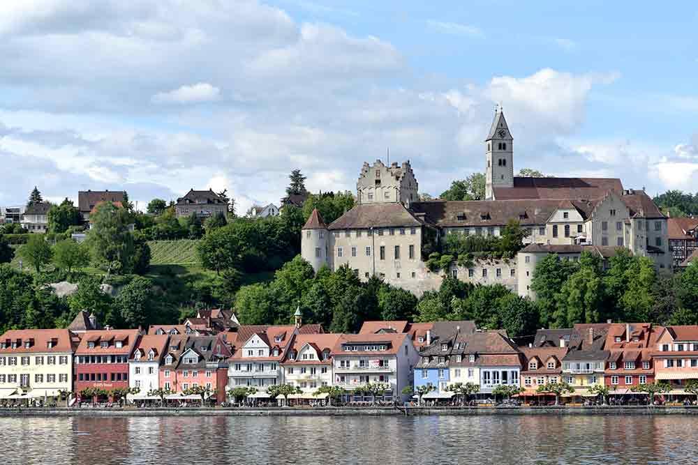 Mittelalter-Romantik: Meersburg