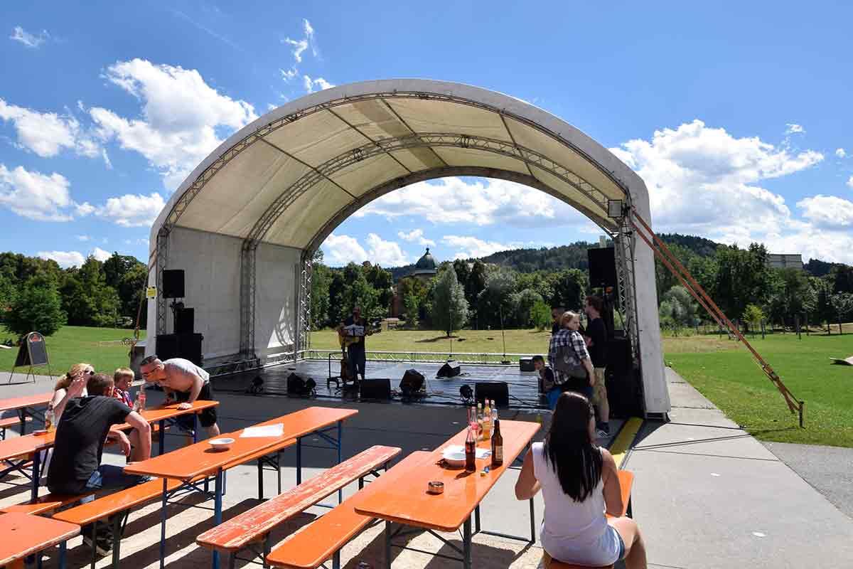 Bühne im Donaupark Tuttlingen