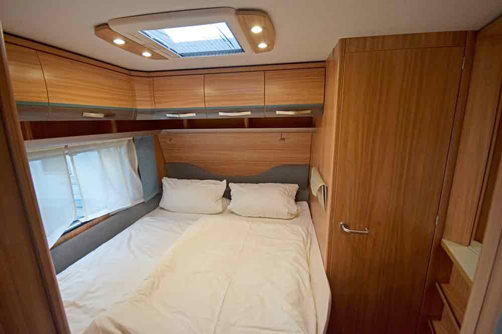 Wohnwagen Schlafbereich