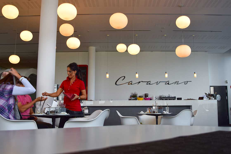 im Restaurant Caravano