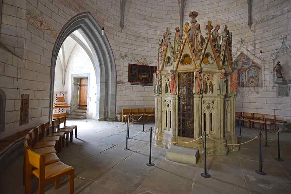 Gotisches Grab