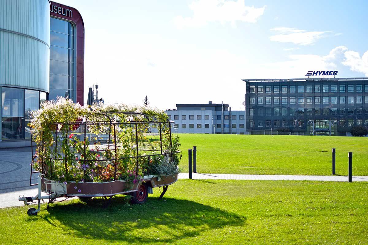 Reisemobilbau pur: Werksführung bei Hymer
