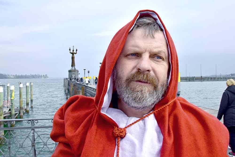 Kardinal vor Imperia