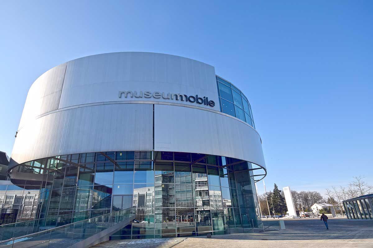 Rund: das museum mobile in Ingolstadt