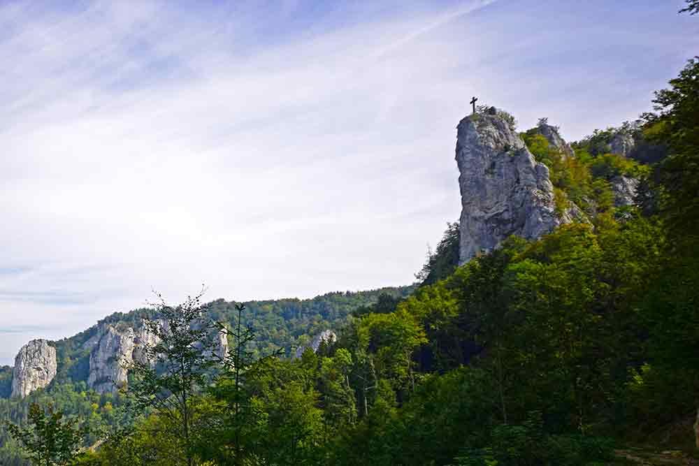 Donautal mit Petersfels