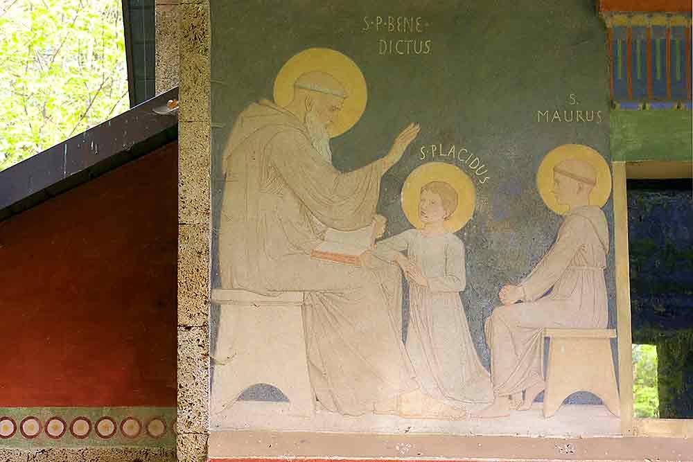 Benedikt, Maurus, Placidus