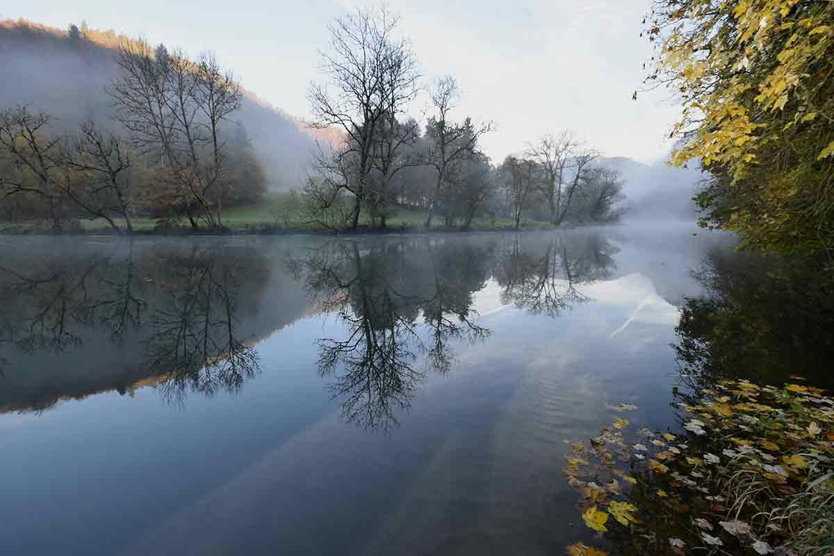 Morgenlandschaft an der Oberen Donau