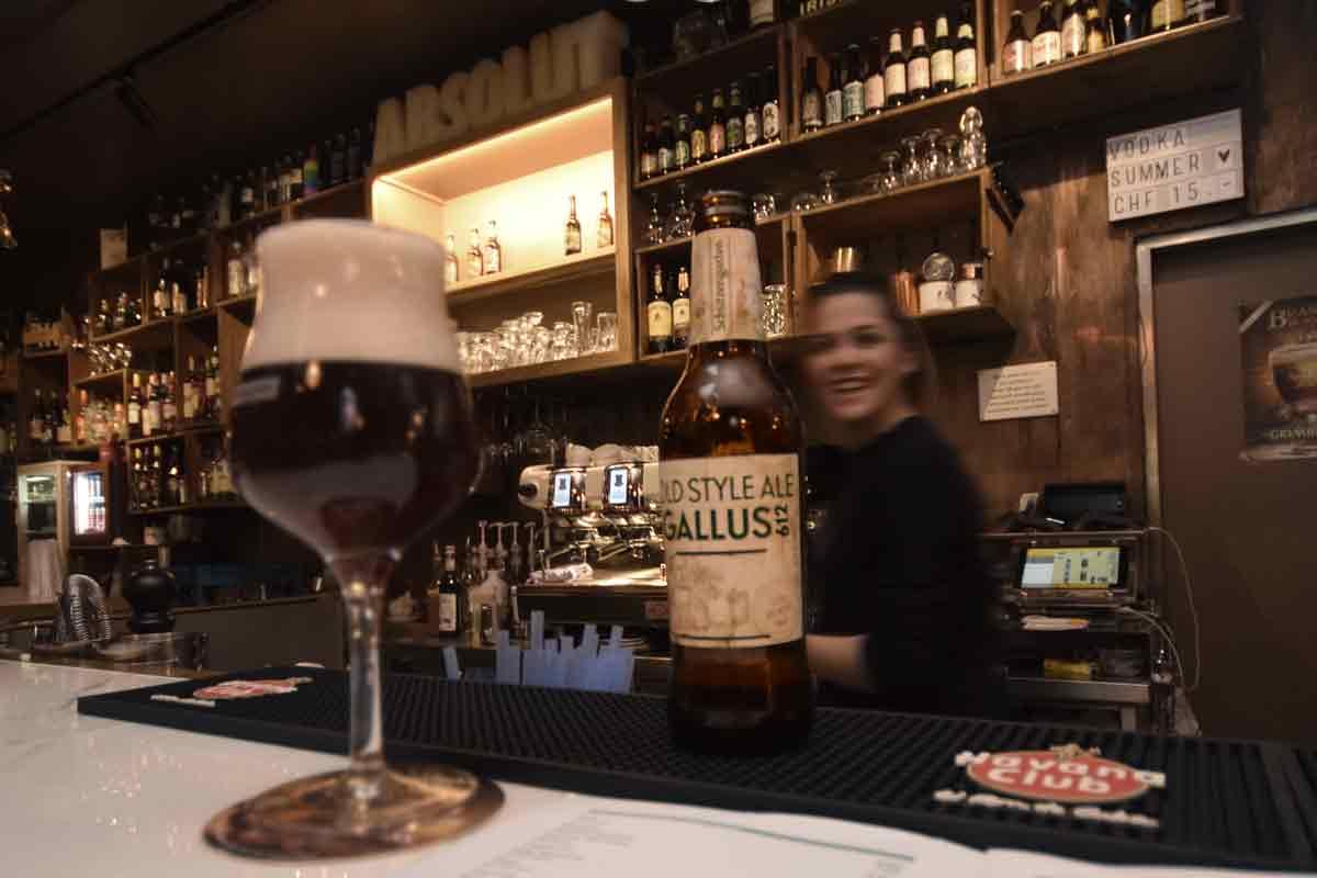 Ein Gallus 612 von der Brauerei Schützengarten