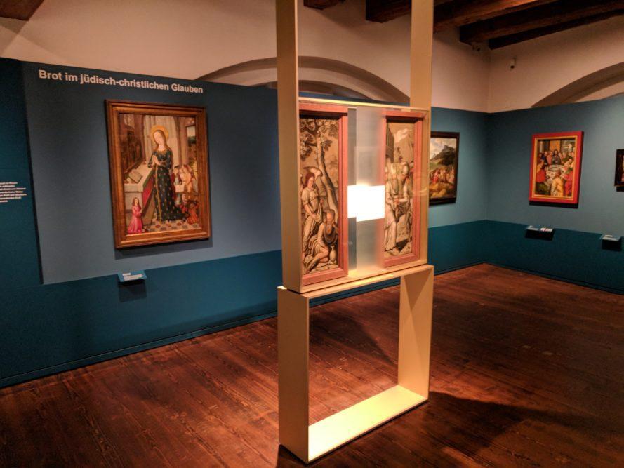 Malerei im Museum für Brotkultur, Ulm