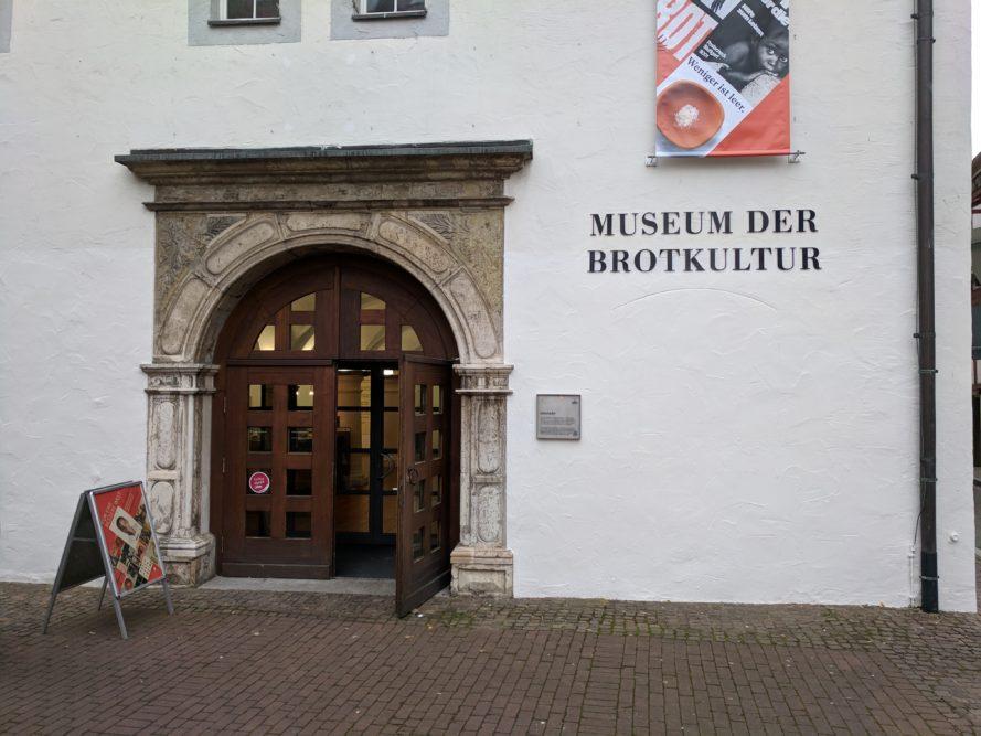 Eingang Museum für Brotkultur, Ulm