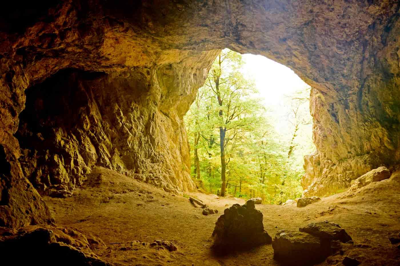 Bronner Höhle von innen