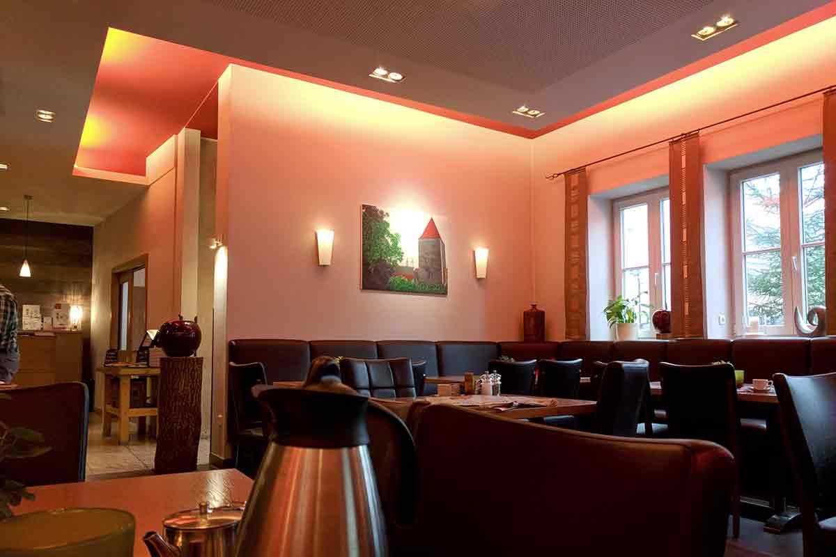 Restaurant Schiener Sitzbereich
