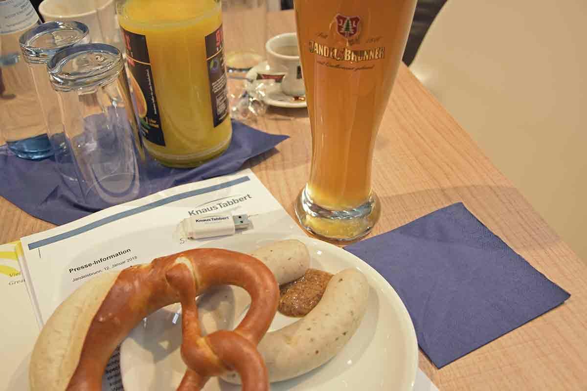 KnausTabbert Weißwürste mit Jandelsbrunner