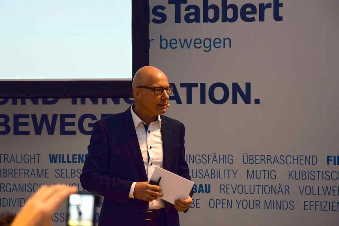 Wolfgang Speck, CEO KnausTabbert