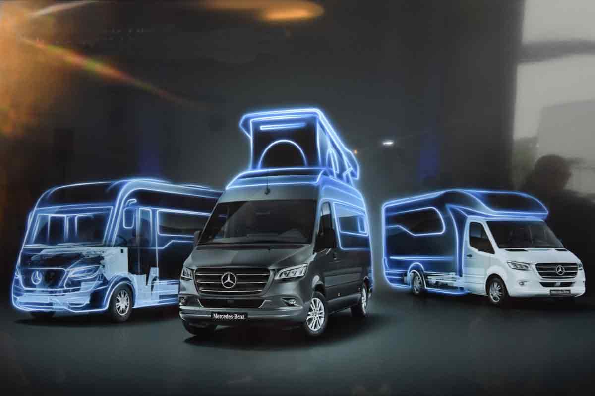 Hymer Reisemobile auf Sprinterbasis