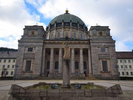 St. Blasien Dom Frontansicht