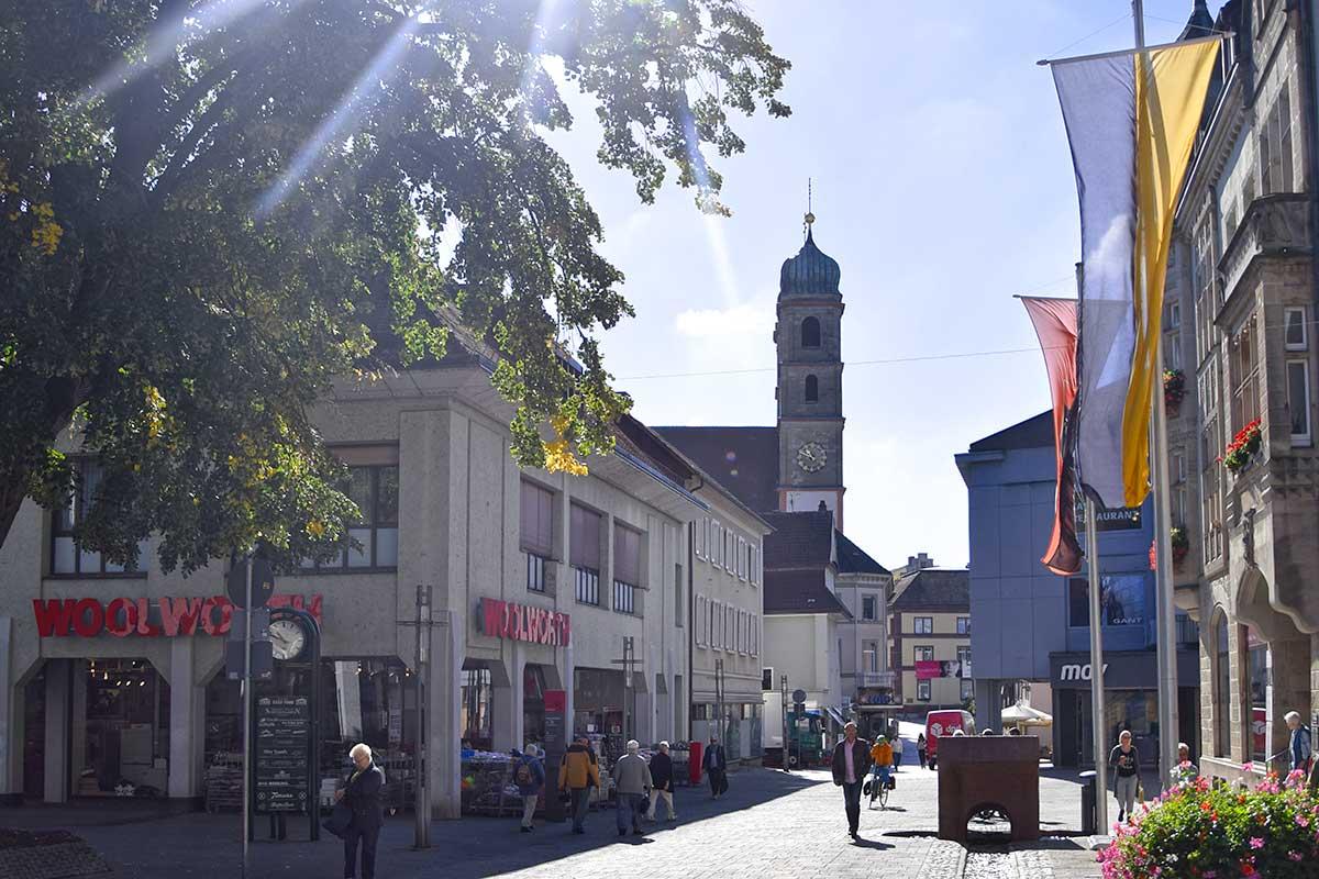 Altstadt mit Fridolinsmünster
