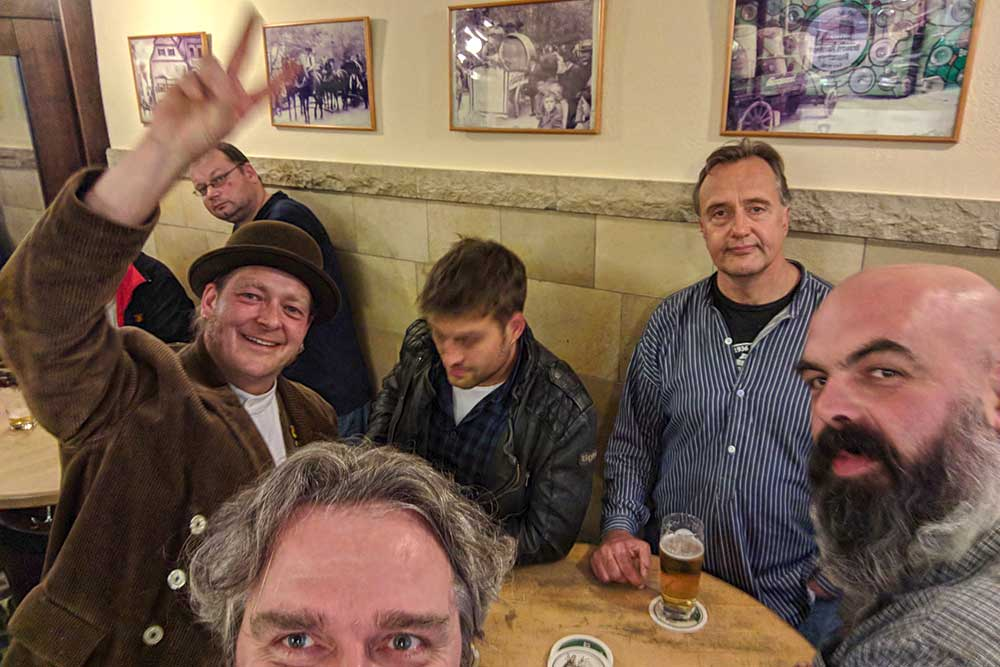 Brauer in der Brauerei Kneitinger in Regensburg