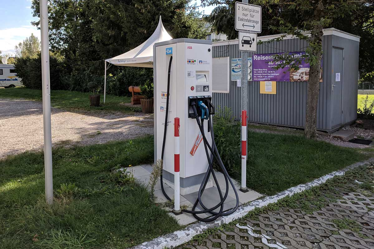 E-Car Ladestation