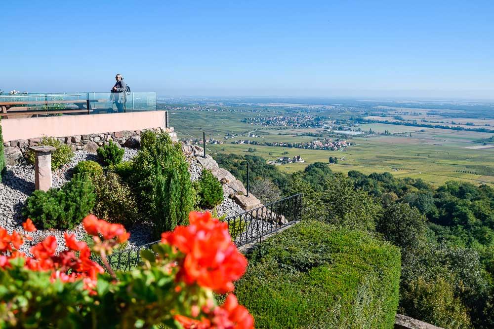 Aussichtsplattform auf dem Schauenberg