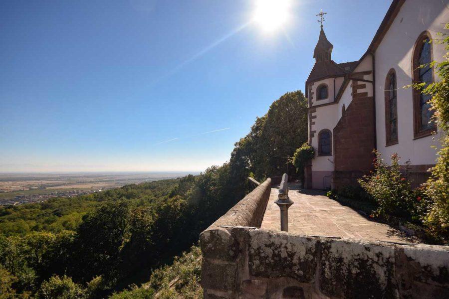 Notre Dame du Schauenberg in Pfaffenheim, Elsass