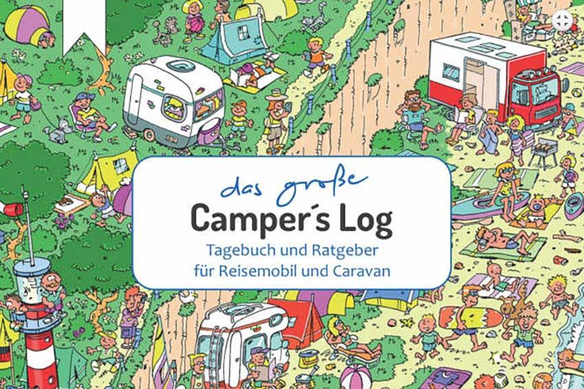 Ds große Camper's Log von Wiebke und Knut Harms