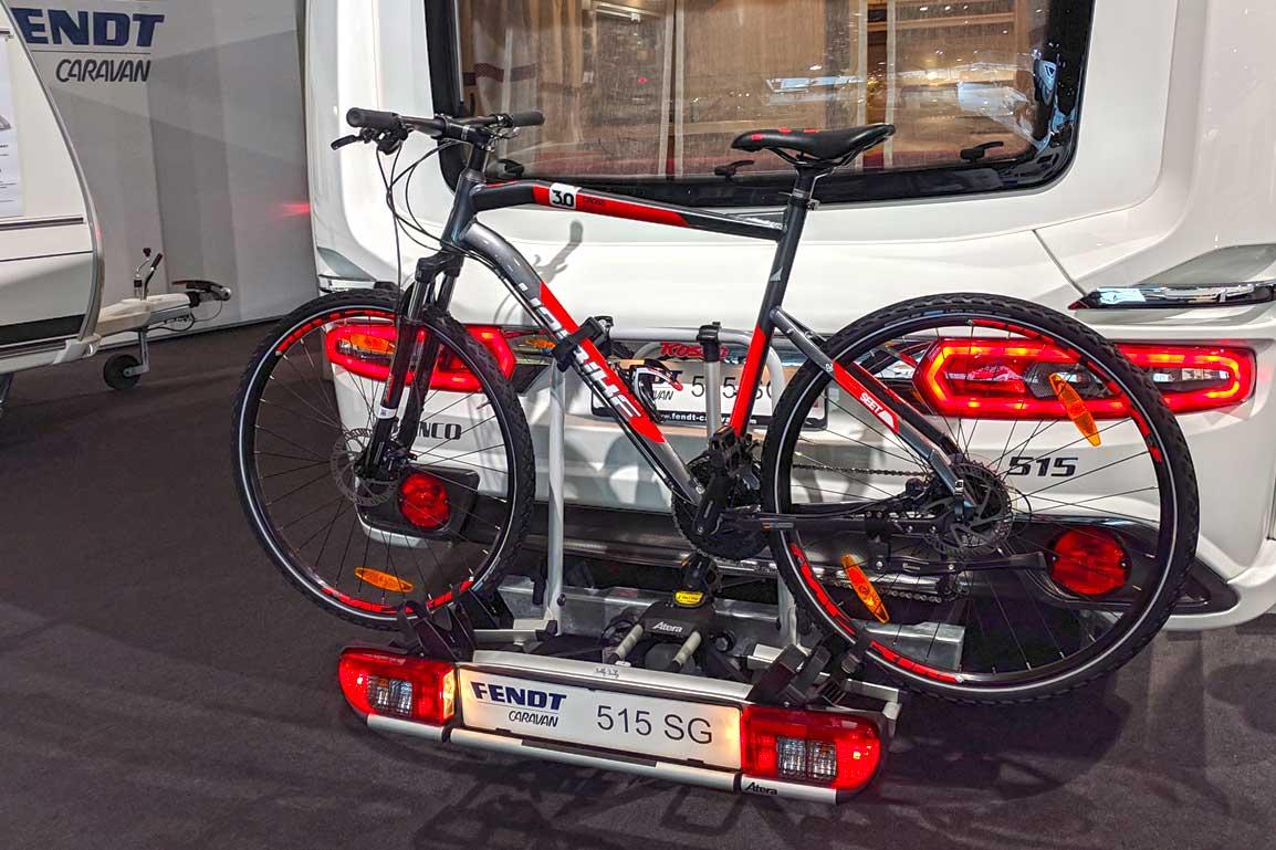 Fendt Bianco Rosso Fahrradträger