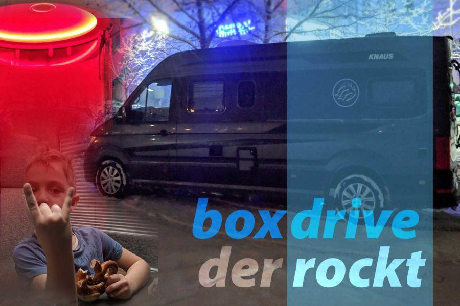Knaus Boxdrive: der rockt!