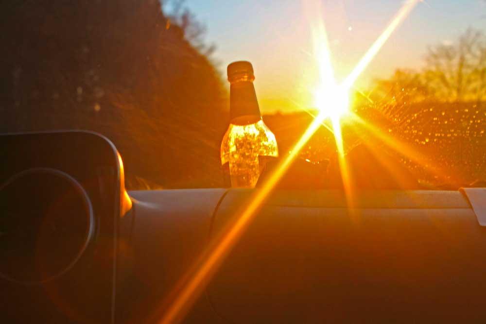 Sonnenstrahlen, Foto: Simon