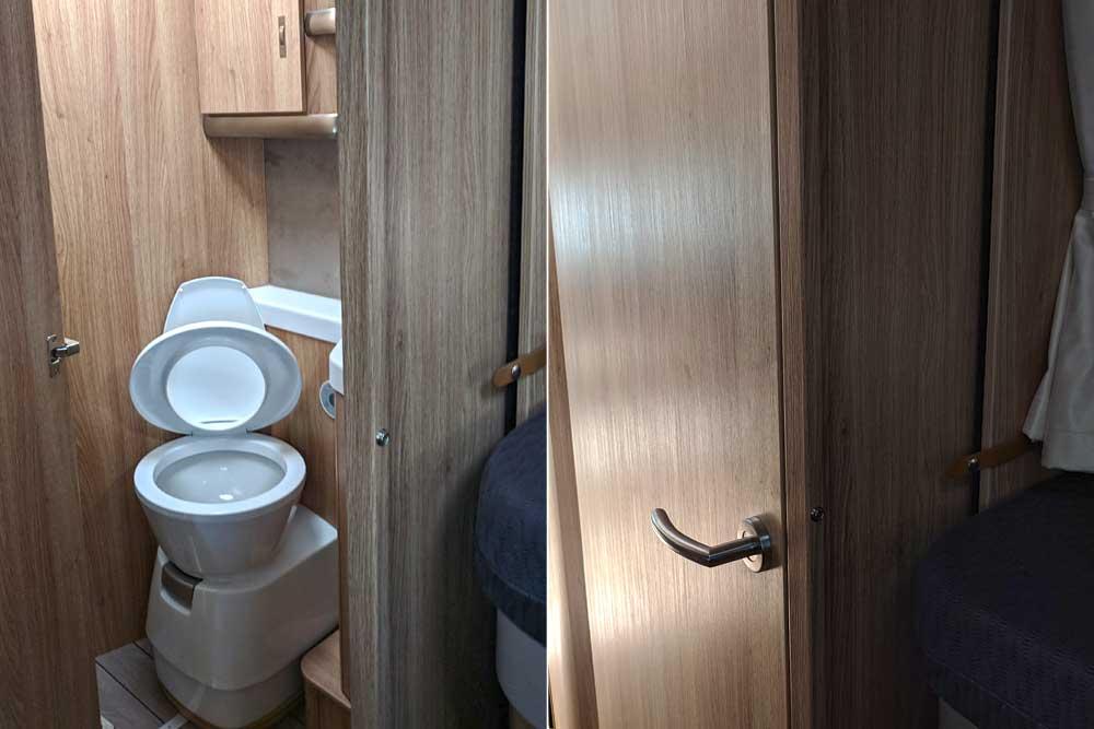 Knaus Sky TI 700 MEG Toilette