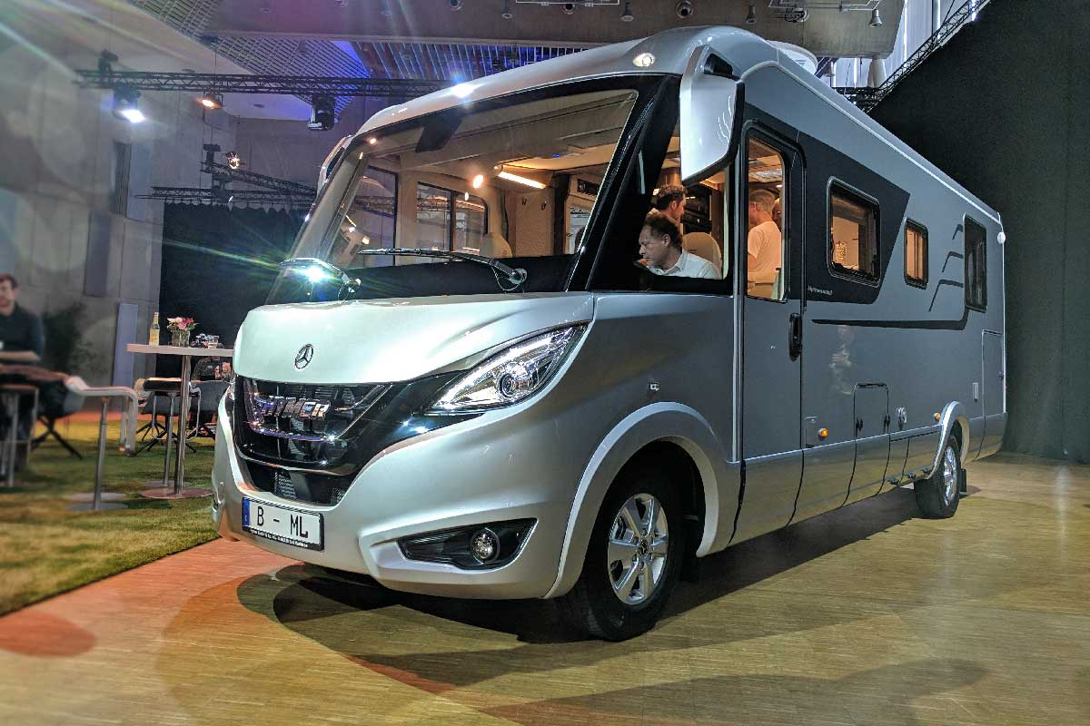 Hymer B ML German Design Award