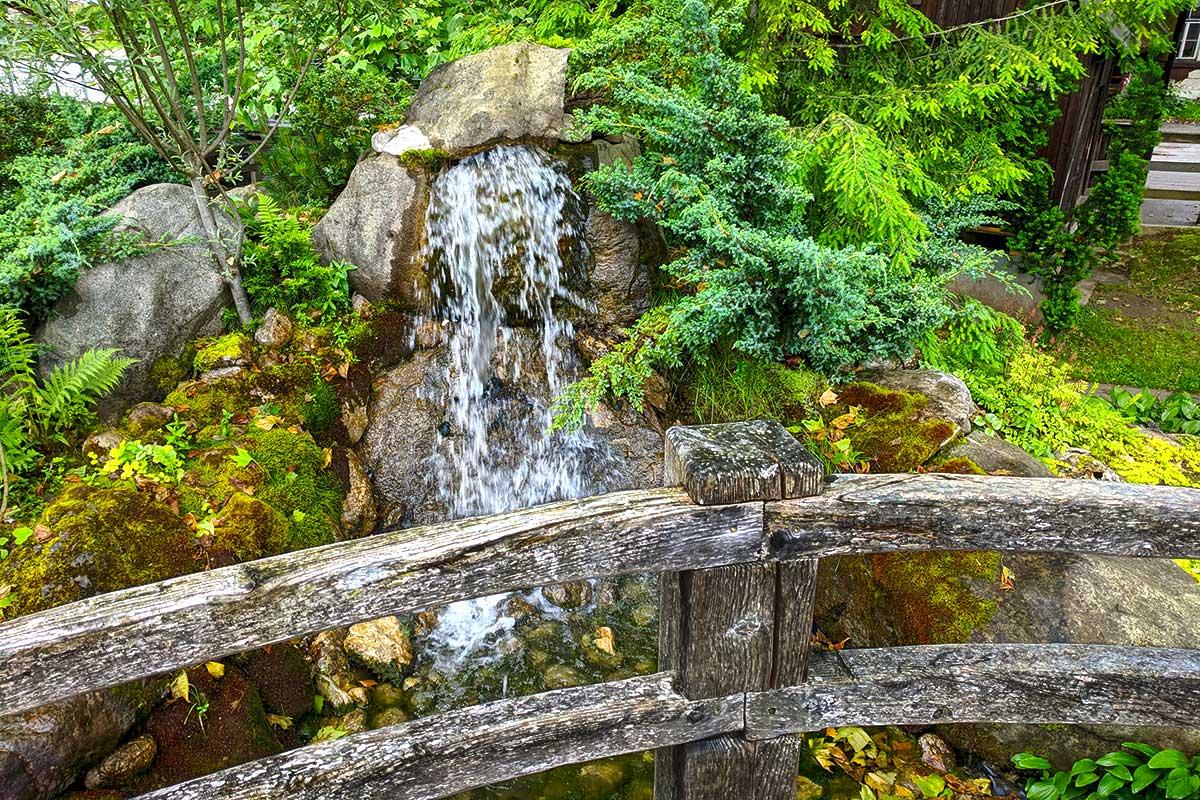 Brunnen in Bohinjska Bistrica