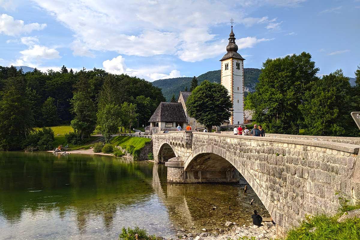 Ribčev Laz - Brücke