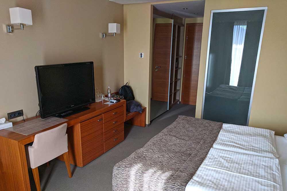 Zimmer im Eco-Hotel Bohinj