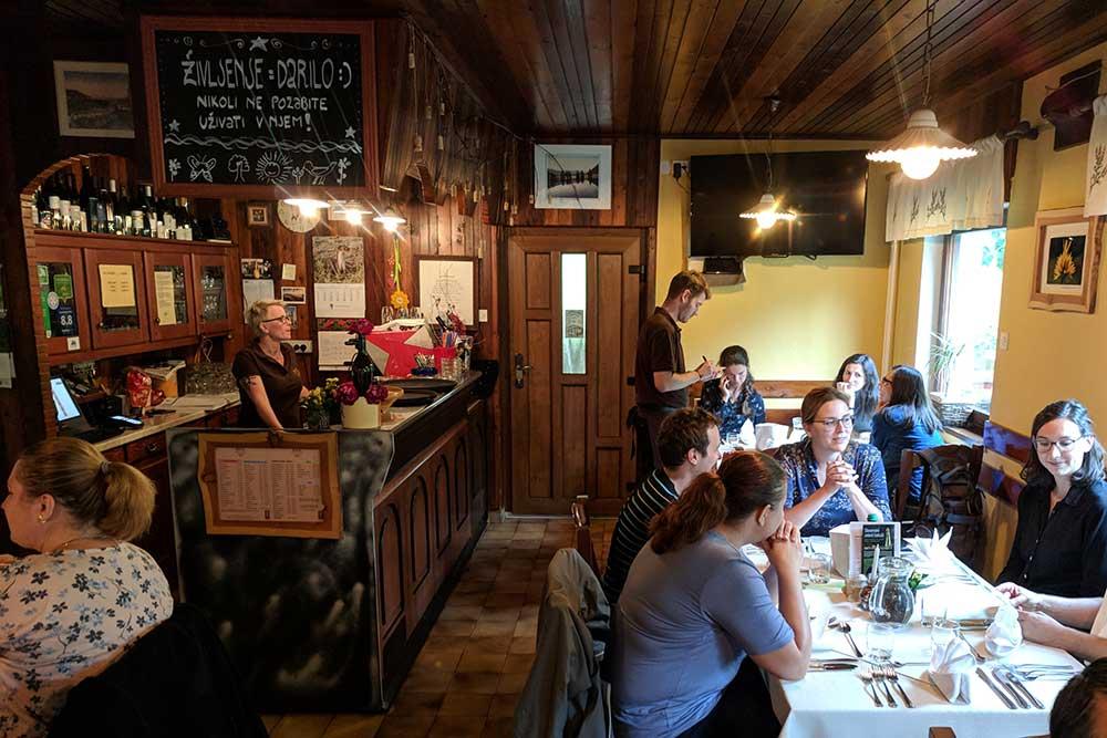 Restaurant Resje in Bohinj-Nemski Rovt