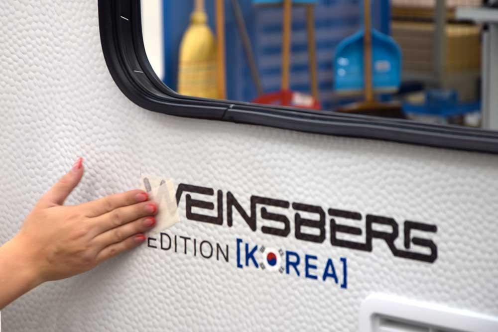 Edition Korea am Wohnwagen