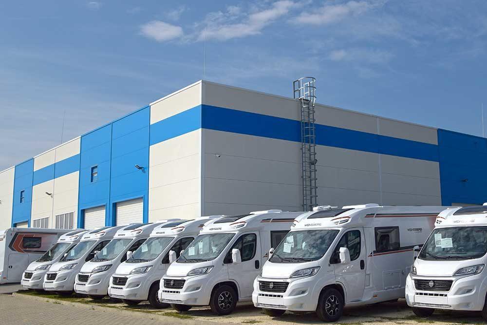 Neue Produktionshalle von Knaus Tabbert Ungarn
