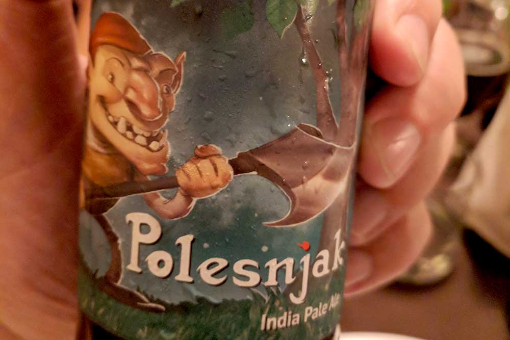 Slowenisches India Pale Ale in Bohinj