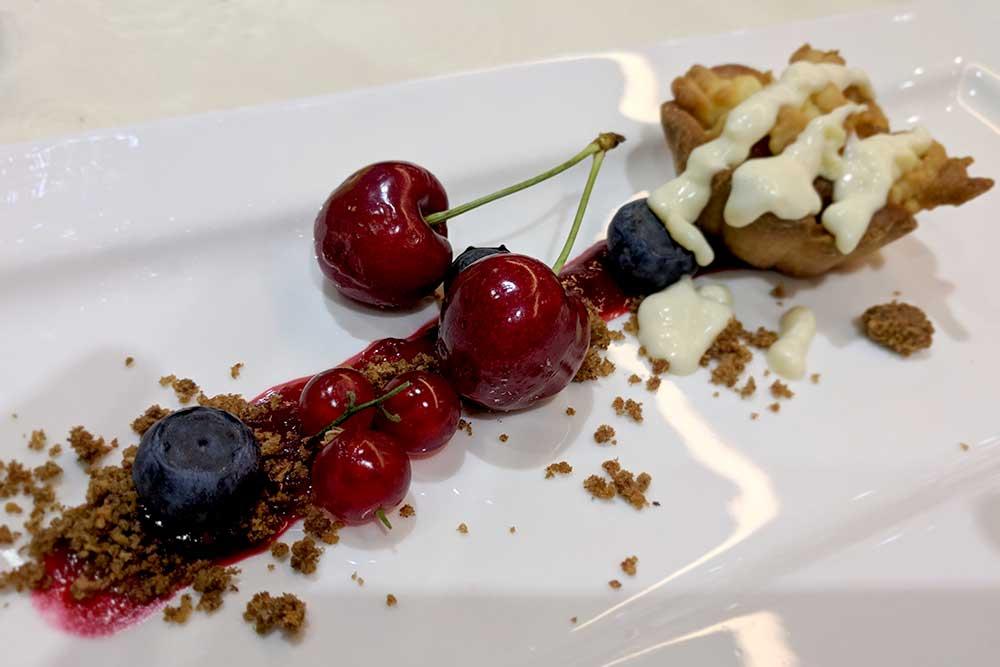 Dessert im Hotel Bohinj