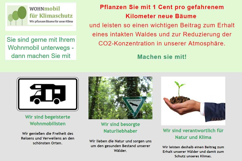 VEreinsseite Wohnmobil für Klimaschutz