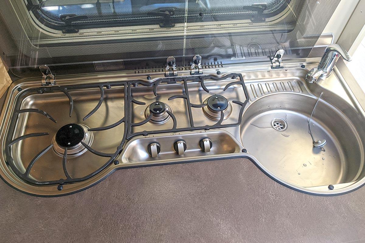 Küche Fendt Bianco