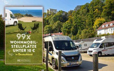 99x Wohnmobilstellplätze unter 10 Euro