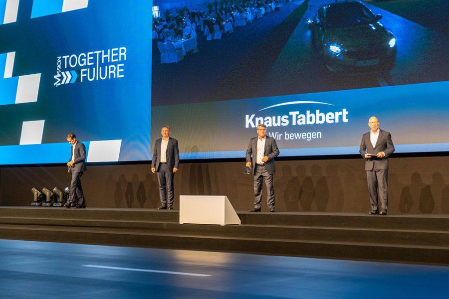 Die Knaus Tabbert Geschäftsführer: Mission together future