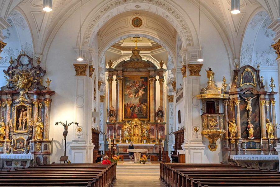 MAriä Himmelfahrt, Stadtkirche Weilheim