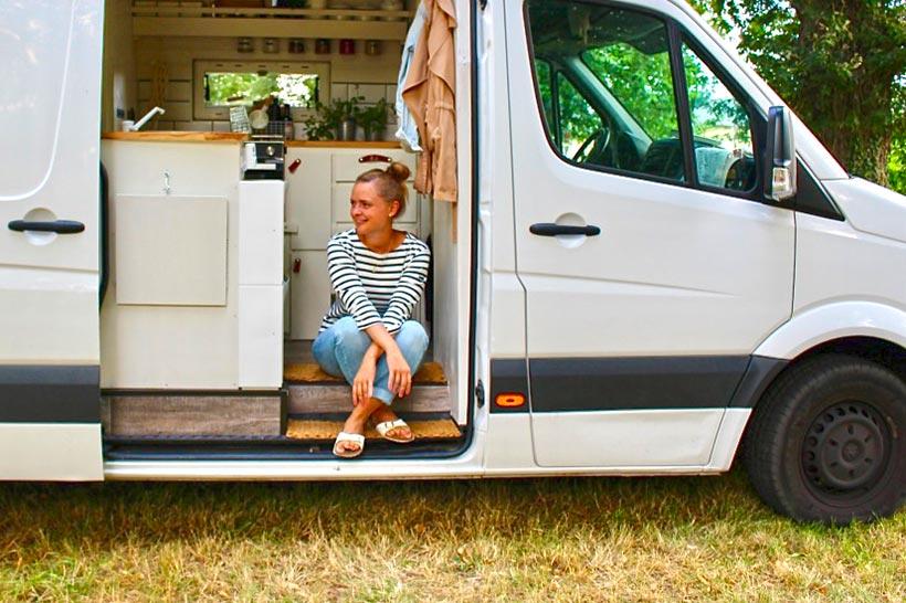 The Van Taste-Van mit Victoria Lommatzsch