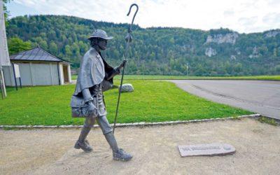 Beuroner Jakobsweg Pilger