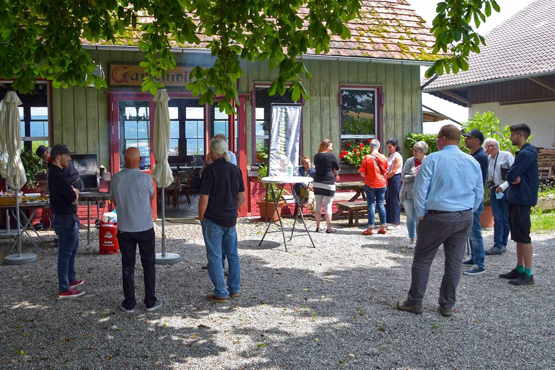 Die Teilnehmer beim Geflügelseminar von Fairfleisch